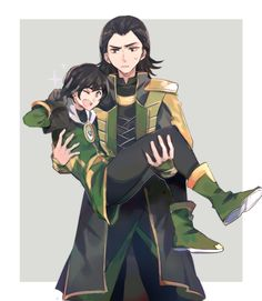 Loki and Loki by assaskun