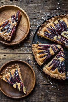 Pastry Affair | Plum Almond Tart
