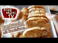 Diese Kekse backe ich sehr gerne, weil sie sehr lange haltbar sind und eigentlich überall sehr gut ankommen. Im Original verwendet man geröstete Mandeln für dieses Rezept. French Toast, Bread, Breakfast, Food, Youtube, Biscuits, Chocolate, Pies, Cantuccini Recipe
