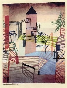 Fortress - Paul Klee - The Athenaeum                                                                                                                                                                                 Mehr