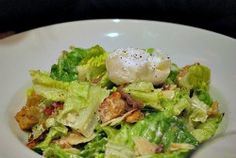 Caesar Salad recipe (with a link to a lot of recipes Main Dishes, Side Dishes, Healthy Protein Shakes, Poached Chicken, P90x, Arugula Salad, Food Website, Caesar Salad, Easy Salads