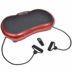 Fitness Vibration Plate Small 200 W with Belts Red Exercise Personal Trainer Hom   Grab this Great Gift. Visit LUXURY HOME BRANDS and get this OpportunityNow!