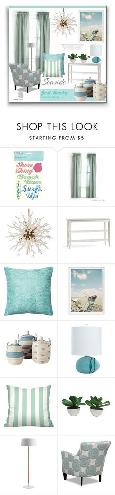 """""""Fashion & Decor * It's all about the Fun! Contest"""" by louise-frierson ❤ liked on Polyvore featuring interior, interiors, interior design, home, home decor, interior decorating, Pine Cone Hill, Pottery Barn, Loloi Rugs and Serena & Lily"""
