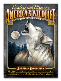 American Expedition Embossed Tin Cabin Signs (Gray Wolf) American Expedition http://www.amazon.com/dp/B00HQMEBIM/ref=cm_sw_r_pi_dp_9NS6ub1RJB22A