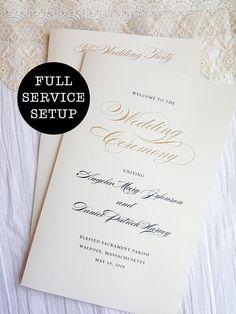 slim wedding program elegance black wedding programs program