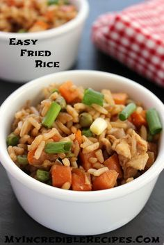 Easy Fried Rice! – Incredible Recipes From Heaven