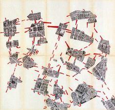 Psychogeographique de Paris, Guy Debord, (Cover)