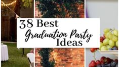 14 Graduation Party Dessert Ideas That Will Match Your Party's Theme - Cassidy Lucille Vintage Graduation Party, Graduation Party Desserts, Outdoor Graduation Parties, Graduation Party Games, Graduation Party Centerpieces, Graduation Party Foods, Grad Parties, Graduation Ideas, Graduation Decorations