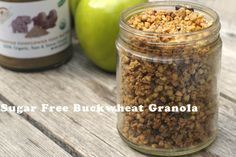 <p>Homemade, crunchy, low on sugar and high on nutrients – this granola is a perfect snack!</p>