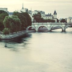 Pont Neuf, Paris Photograph, Seine River, Romantic Travel Photography, Blue - Early one morning Romantic Vacations, Romantic Travel, Most Beautiful Cities, Beautiful World, Paris Photography, Travel Photography, Amazing Photography, Eyes Poetry, Murals Your Way