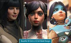 23 Beautiful 3D Girls and CG Girl Model Designs for your inspiration. Read full article: http://webneel.com/3d-models-glamorous-cg-girls | more http://webneel.com/daily | Follow us www.pinterest.com/webneel