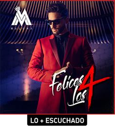 Felices Los 4 song was by famous Colombian singer Maluma as a leading single of his album F. in the year Felices Los 4 song was from his al Dj Remix, Song Playlist, Mp3 Song, James Mcavoy, Music Albums, Music Songs, Maluma Pretty Boy, Musica Online, Wilmer Valderrama