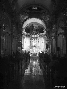Templo de San Agustín, Durango México. Fotografía por Mony del Campo