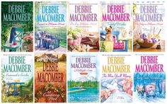 Debbie Macomber- Cedar Cove and Blossom Street books I've loved both of these series & even the singles (non-series) I've read.