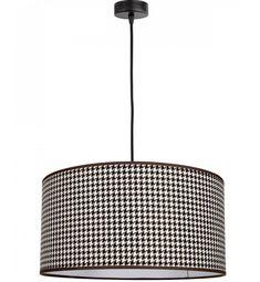 Pojedyncza Lampa Wisząca Abażur w Kratkę - Sklep z oświetleniem Light Home