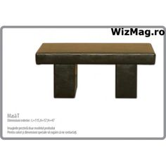 Masa T WIZ 0039 Living, The Wiz, Dining Bench, Interior, Furniture, Home Decor, Dining Room Bench, Decoration Home, Room Decor