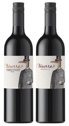 Wine Label Design, Calligraphy and Custom Lettering on wine Labels