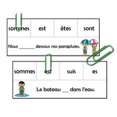Jeu d'association - Le printemps French Education, Cycle 2, Jaba, Fractions, Classroom, Teaching, Activities, School, Children