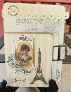 So Suzy Stamps: Spring Time Birthday Hugs - Passport Card