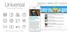 Universal for IOS - Full Multi-Purpose IOS app - https://codeholder.net/item/mobile/universal-ios-v2-2-1-full-multi-purpose-ios-app