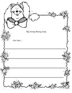 My Funny Bunny Story writing prompt!
