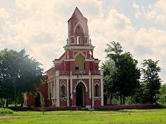 HACIENDA SAN IGNACIO GOTHIC CHURCH | PROGRESO YUCATAN MEXICO