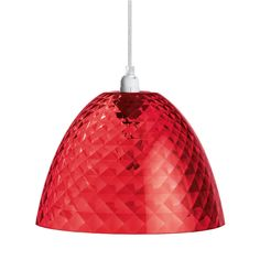 Koziol Hanglamp Stella S – Transparant Rood