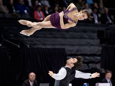 Canadians Meagan Duhamel and Eric Radford won the bronze medal in pairs figure skating on Thursday, March 14 at the 2013 World Figure Skating Championships.