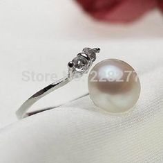 Cheap pearl eternity band ring, Buy Quality pearl costume directly from China ring builder Suppliers: Welcome to our store !1.material:100% natural freshwater pearl  2.pearl size: 8-9mm &nbsp