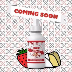 @idripcrepes Strawberry Supreme is a Crepe drizzled with Strawberry's and Sweet Creme creating the next all day breakfast. Pre-Order: idripcrepes@gmail.com by vapeporn
