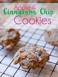 Apple and Cinnamon Chip Cookies