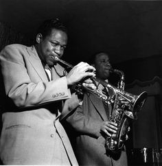 Clifford Brown and Lou Donaldson-Birdland, 1954