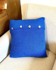 Farmhouse Throw Pillow Crochet PATTERN Home Decoration | Etsy