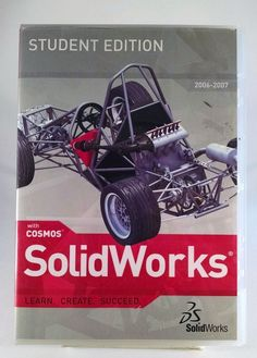 Solidworks 2006-2007 Student Edition. Includes Serial Free Shipping