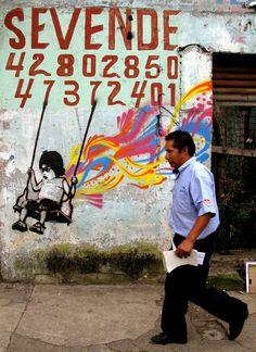 Pochoirs - Par l'artiste Stinkfish -  une référence de la jeune vague street art Colombienne