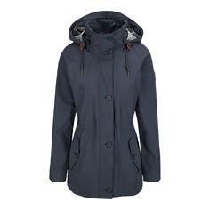 Columbia Women's Lookout Butte Hooded Jacket - INDIA INK