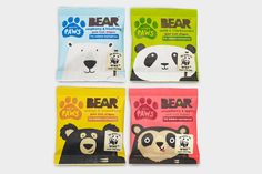 The Dieline Award 2015: 3rd Place Confectionary, Snacks, Desserts- BEAR Paws — The Dieline - Package Design Resource
