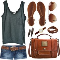 """Wardrobe Staples: Summer Sandals"" by sammiexoxoxo on Polyvore"