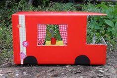 caravan knutselen - Google zoeken Diy For Kids, Crafts For Kids, Diy Crafts, Craft Activities, Toddler Activities, Craft Projects, Projects To Try, American Girl Accessories, Camping Theme