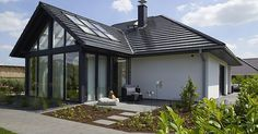 Viebrockhaus Edition 500 B WOHNIDEE-Haus - Bungalow mit Loftcharakter, #viebrockhaus #wohnidee-häuser #edition 500 b wohnidee-haus