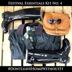 Festival Kit #Barbour jackets #Hunter boots #Bestinthecountry