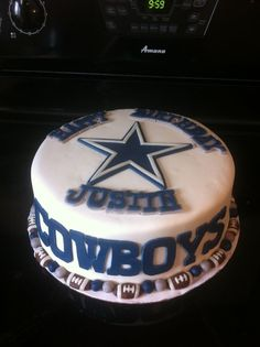 Dallas Cowboys Cake Dallas Cowboys Pinterest Dallas cowboys