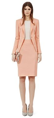Reiss Salmon Suiting