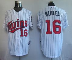 Kubel White Jersey $18.99  This jersey belongs to Minnesota Twins  Color: white Size: M, L, XL, XXL, XXXL  The jersey is made of heavy fabric with nylon diamond weave mesh