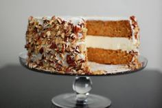 Carrot cake with cheesecake in the middle. I have made a few of the red velvet with cheesecake in middle and so far everyone has loved it.It is no wonder bakers are thinking what other cakes would be even better with a cheesecake in the middle.