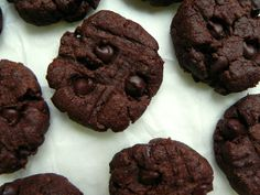 Chocolate Flourless Peanut Butter Cookies Ceara's Kitchen #vegan #glutenfree