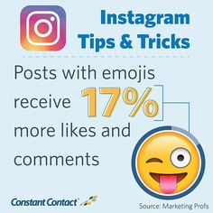 Emojis attract a viewer. They give a viewer a quick judge at whether the post is sad, happy or funny.