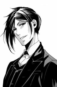 Image shared by Viva la Vida. Find images and videos about anime, manga and kuroshitsuji on We Heart It - the app to get lost in what you love. Grell Black Butler, Black Butler Sebastian, Black Butler Kuroshitsuji, Manga Boy, Manga Anime, Black Butler Characters, Manga Characters, Manga Combat, Anime Kuroshitsuji