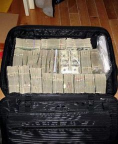Large Amount Of Cash The largest single drug cash
