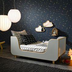 Un lit au design scandinave